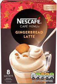 Nescafe Gold Gingerbread Latte 8 X 21G £1 at poundland