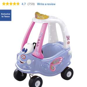 Little Tikes Cozy Coupe Fairy Ride on £45 @ Tesco saving £15