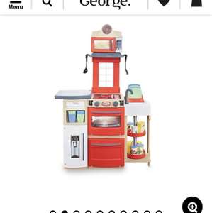 Little Tikes Red Cook 'n Store Kitchen Half price £30 @ Asda