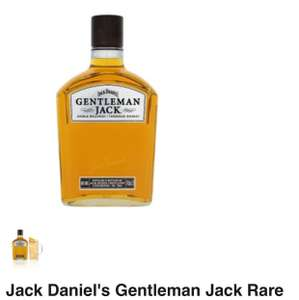 gentleman jack rare tennessee whiskey £25 @Asda
