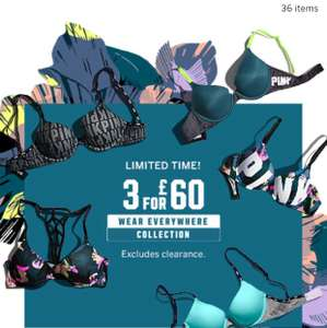 3 for £59.08    Bras Pink  + £8 delivery  - Victoria secrets