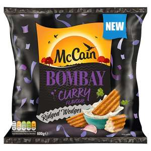 Mccain Bombay Wedges 600G £1 - Tesco
