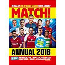 Match Annual 2018 just £1.99 instore @ Home Bargains
