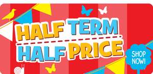 "A selection of big discount deals from The Entertainer's ""Half Term Half Price"" sale, mostly over 60% off!"