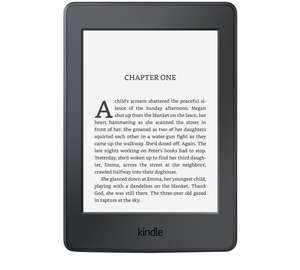 Kindle Paperwhite £89.99  c/w free £5 voucher @ argos