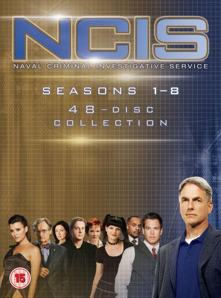 NCIS seasons 1-8 DVD boxset £26.99 at Zavvi