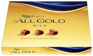 Terrys All Gold Assorted Milk Chocolates 190 g (Pack of 3) £4.50 (Add-on Item) @ Amazon