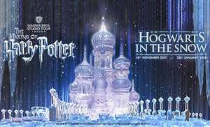 Exclusive Closed Doors Harry Potter Studio Tour (8 Dec) Incl Hogwarts In The Snow + Hot Meal + Drink + Butterbeer + Souvenirs and Special Guest for £49pp (£39.20 with code) @ Groupon