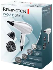 Remington Pro Air Lightweight 2200W Hair Dryer AC5913W with 5 years guarantee for £7.99 @ Argos