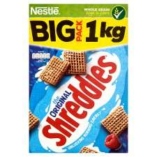 Nestle original shreddies 1kg pack £2.50 instore at Asda