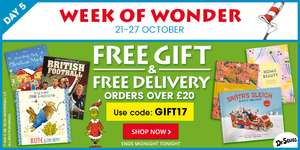 The book people, today free delivery and gift on orders over £20!