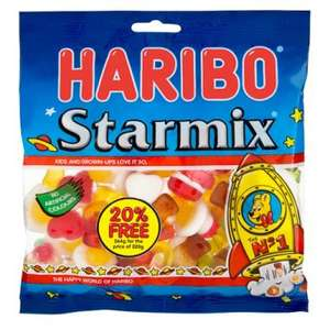 Haribo Starmix 260g JUMBO PACKS!! £1 in Poundland 20% extra packs