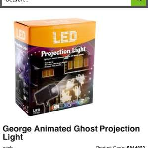 George animated Ghost projection Light £20 @ Asda Have that extra spooky feeling