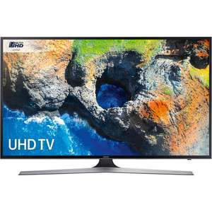 Samsung 40MU6120 40 Inch 4K UHD Smart TV with HDR - £359.10 at Argos **REDUCED**