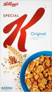 Kellogg's Special K Original (750g) was £3.98 now £3.00 @ Morrisons