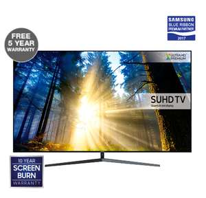 SAMSUNG UE49KS8000 with 5 year warranty + 10 year screen burn warranty @ RGB Direct
