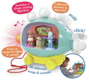 In The Night Garden Musical Activity Pinky Ponk - £22.50 @ Sainsbury's (in-store only)