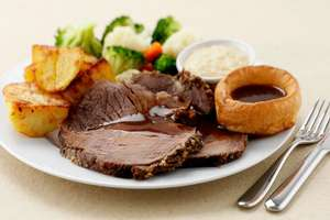 All you can eat 4 course Sunday lunch + kids eat FREE and they get a FREE ice-cream - eg 4 people from just approx. £6.50pp @ Village Hotels