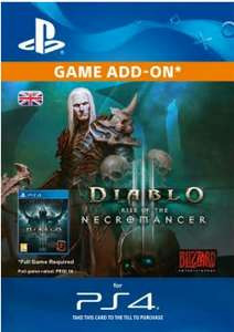 Diablo 3 Rise of The Necromancer DLC £8.99 PS Store