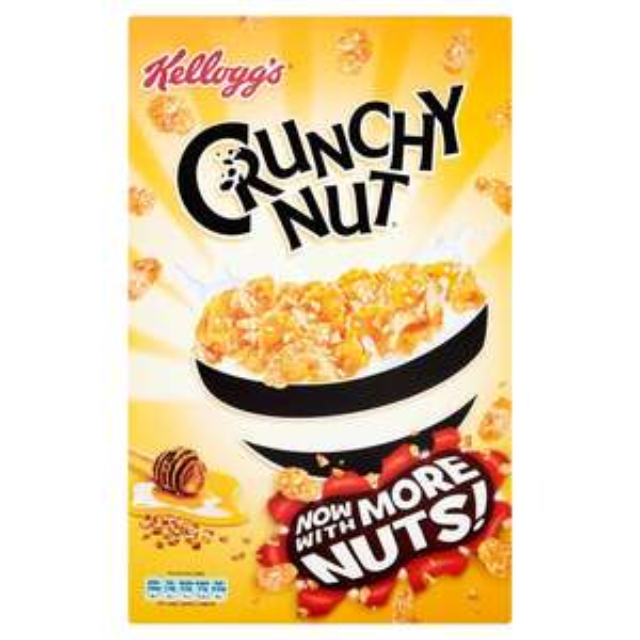 500g - Kellogg's Crunchy Nut Cornflakes  £1.34 @ Iceland