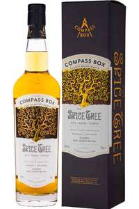 Compass Box Spice Tree lended Malt, 70 cl  £34.99 - Amazon