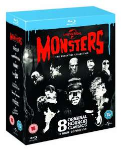 Universal Classic Monsters - The Essential Collection [Blu-ray] AMAZON £12.99 Prime £14.98 without