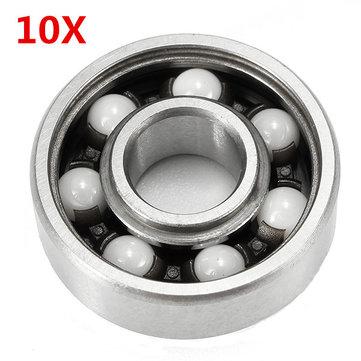 10pcs 608ZZ Ceramic Bearing - 8x22x7mm - £5.12 @ BangGood
