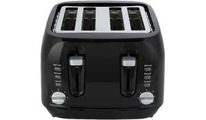 Update 20/12 - George Home 4 Slice Toaster With Long Slots £15 - Free C&C @ Asda George (Black)