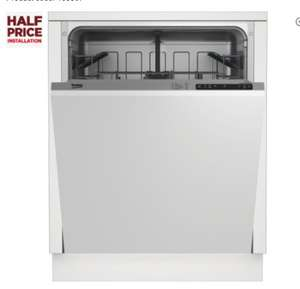 BEKO DIN15X10 Full SIze integrated dishwasher £199 with 2 Year Guarantee @ Currys + Poss 3 Months Free Finish Quantum tablets (Last day for Finish Promo)