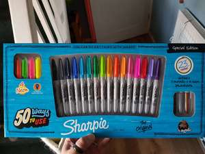 Sharpie 23 Pen set - Half Price at Hobby craft - £12.50 (Free C+C)