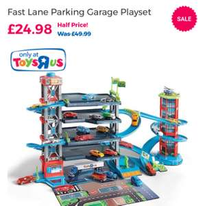 Fast Lane Parking Garage Playset - £24.98 @ Toys R Us