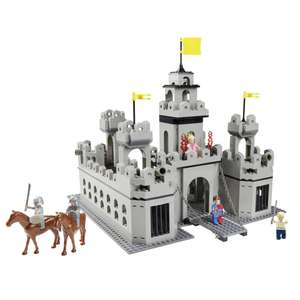 Wilko Blox Castle Mega Set (was £30) Now £20 @ Wilko (Free C&C/ Compatible with Leading brand)