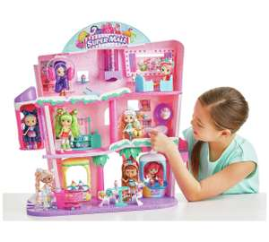 Shopkins Shoppies Shopville Super Mall Playset @ Argos + £5 Argos voucher back - £74.99