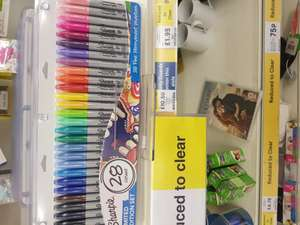 28 Ltd edition sharpie set Tesco - Wadebridge £10.50