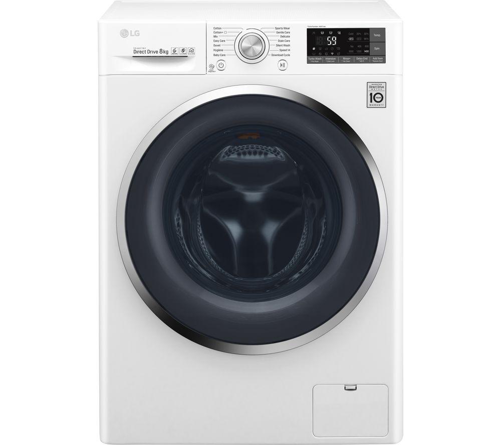 LG  FH4U2TDN2W 8 kg 1400 Spin Washing Machine  £319.99  Currys with code