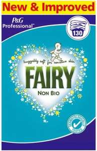 Fairy Non Bio Professional Washing Powder 130 Washes £17.99 @ Makro