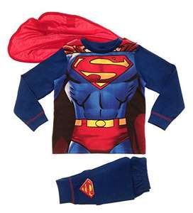 Kids Boys Fancy Dress Up Superman Supersuit from £6.49 delivered @ Amazon / Lora Dora.