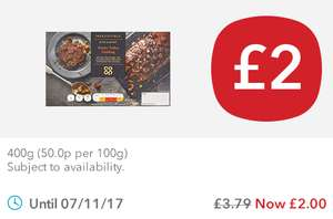 Co-op Irresistible Sticky Toffee Sponge Pudding (400g) was £3.79 now £2.00 @ Co-op Food Stores