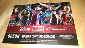 20% off Marvel products @ Disney Store