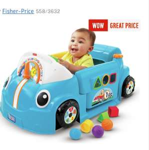 Fisher-Price Laugh & Learn Crawl-a-Round Car - Blue £39.99 @ Argos