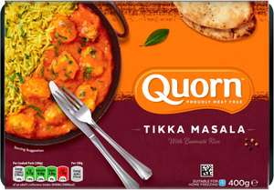 Quorn Meat Free Stew & Dumplings (400g) was £3.00 now any 3 for £5.00 @ Tesco