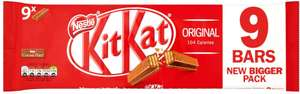 Kit Kat 2 Finger Milk Chocolate 9 Pack (186.3g) Half Price was £1.98 now £1.00 @ Morrisons