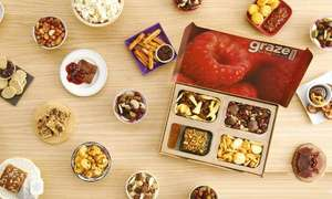 FREE BOX OF SNACKS AT GRAZE via Wuntu