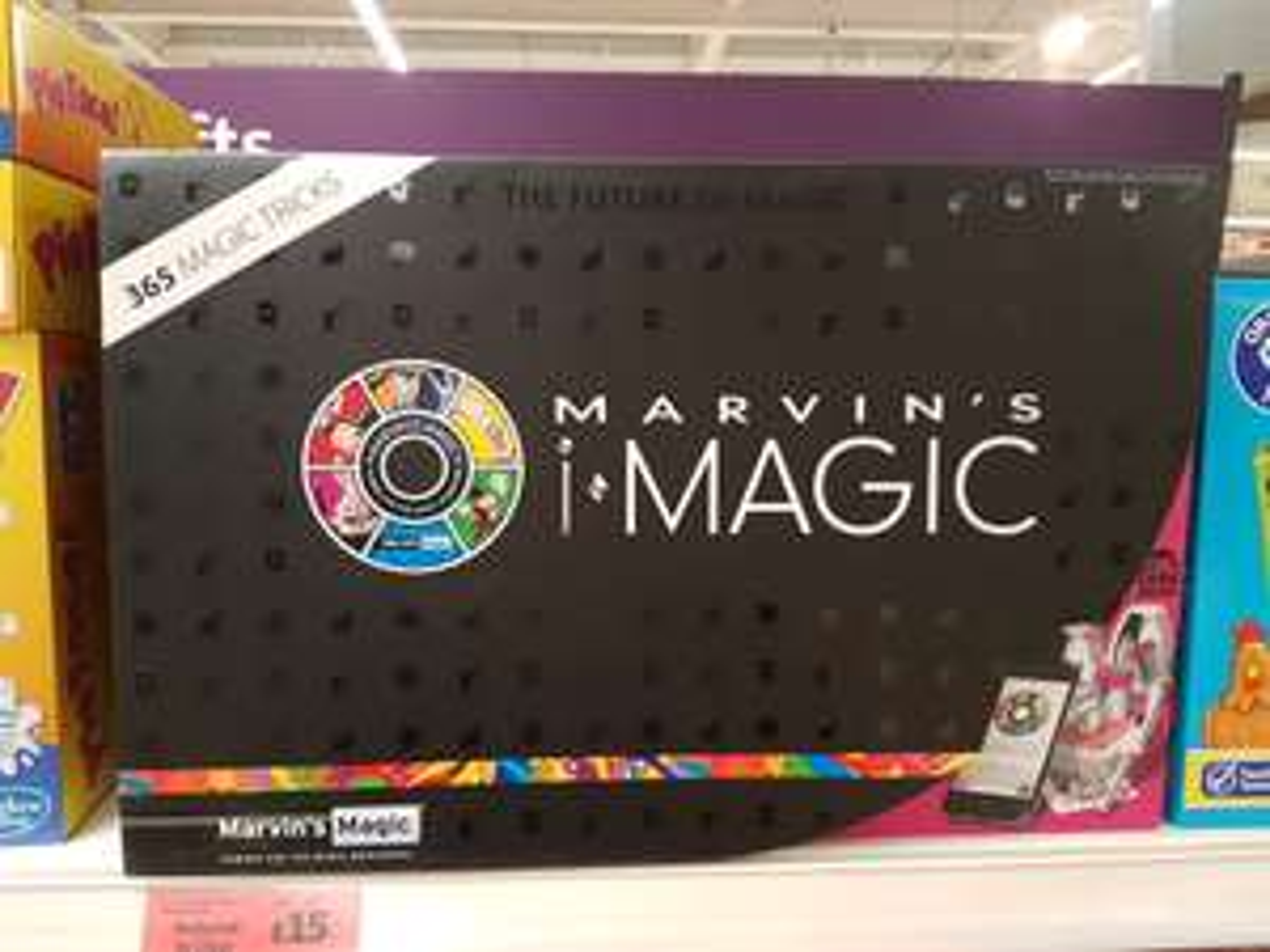 Marvins magic... was £50, now £15 instore @ Sainsbury's - pepper hill store northfleet
