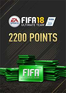 FIFA 18 2200 FUT Points DLC Origin - PC gamers - £13.55 @ SCD Key