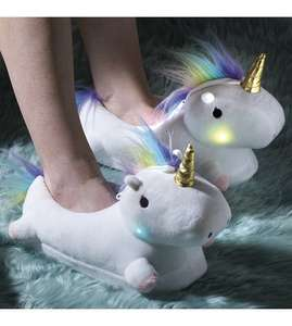 Light up unicorn slippers @ studio £14.99 (plus £4.99 del)