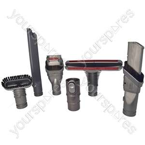 Dyson Vacuum Cleaner Complete Tool Accessories Set for £12.99 with free delivery V6 compatible @ yourspares.co.uk