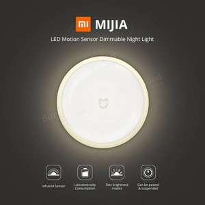 Xiaomi MiJIA IR Sensor and Photosensitive Night Light £9.16 Gearbest