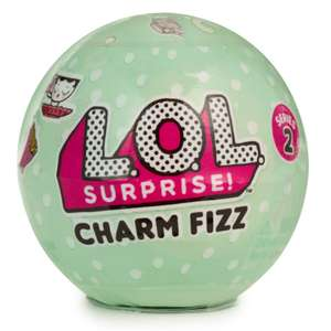 3 for 2 on L.O.L. Surprise Charm Fizz Ball  @ toysRus