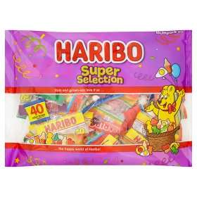 Haribo super selection multipack (40 packs) £2.50 at Asda in-store and online